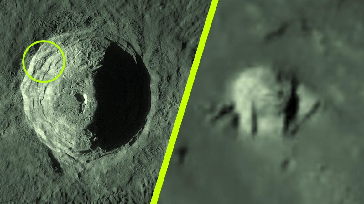 ad3d1c636 Megtalálták az idegenek bázisát a Hold egyik kráterében | hold ...