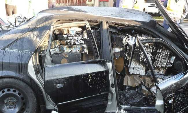 Menekülő csempészautóval ütközött: sok sérült