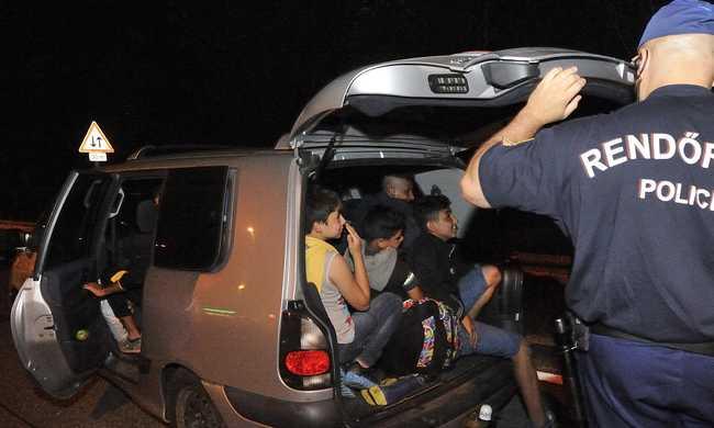 Egyre több embercsempészt fognak el Ausztriában