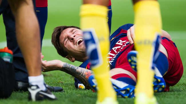 Messi már gyógyul, a Real Madrid elleni rangadón térhet vissza