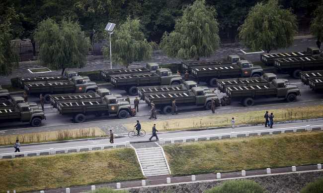 Készültségben vannak a japán katonák Észak-Korea miatt