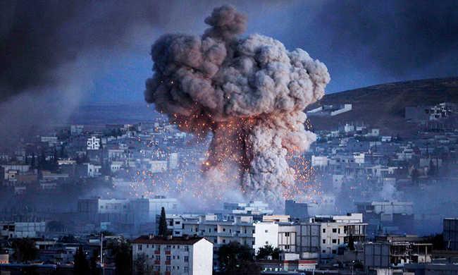 Lebombázták az Iszlám Állam pénztárát, milliók éghettek el