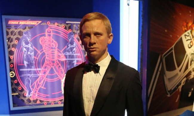 Az összes Bondot elkészítették viaszból