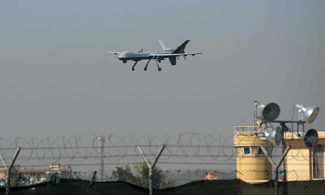 Törökország lelőtt egy drónt a szír határnál