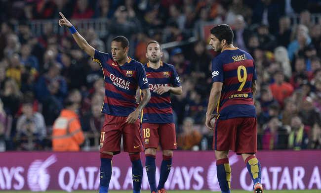 Neymar négy góljával nyert a Barcelona