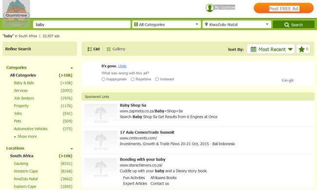 Online árulta a kisbabáját