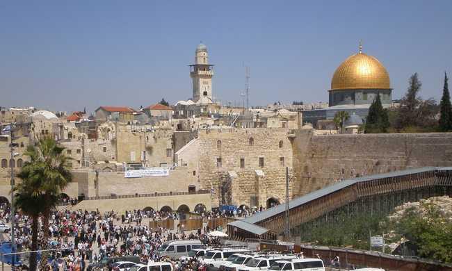 Kommandósok védik a turistákat Jeruzsálemben