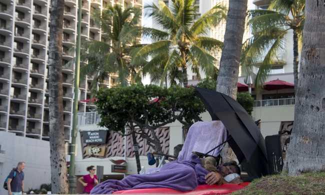 Szükségállapot Hawaii-on