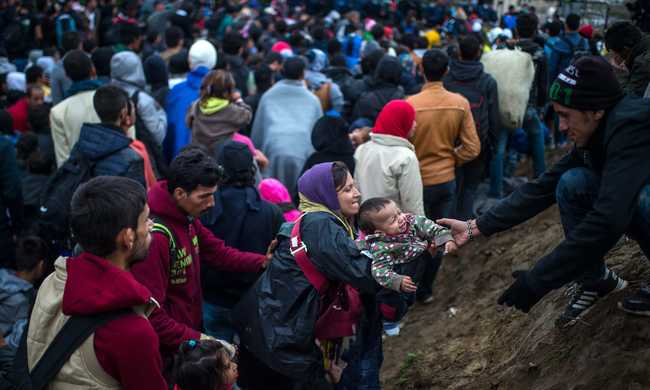 Drámai menekülthelyzet a horvát-szlovén határon