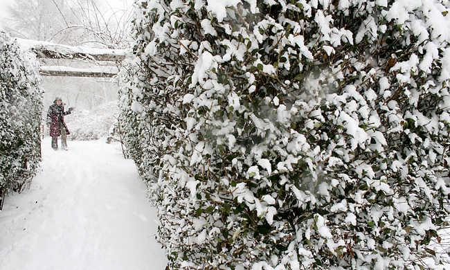 Akár 10 centiméter hó is hullhat a hegyekben