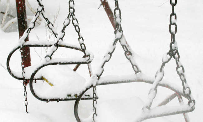 Esik a hó Székelyföldön