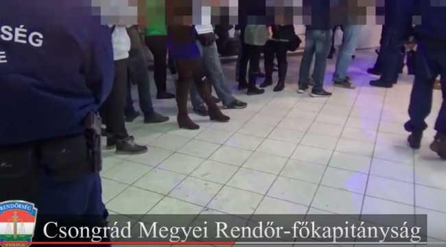 Drogdiszkót leplezett le 100 rendőr