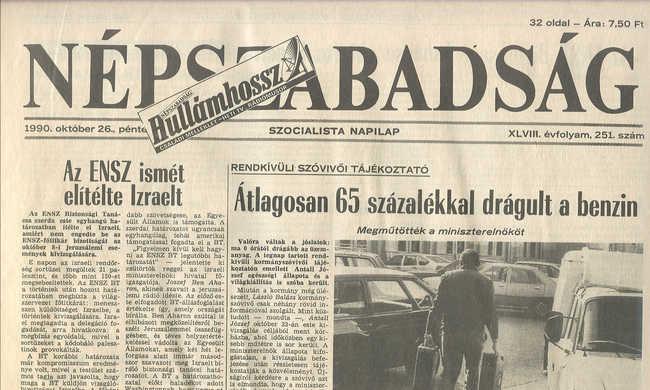 25 éve volt a taxisblokád: a második nap