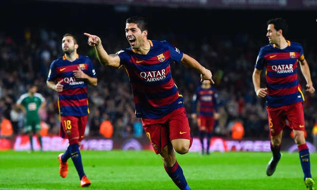 Suárez három gólt lőtt, győzött a Barcelona