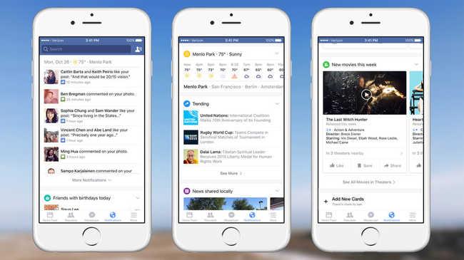 Megújul a Facebook, a Google ötletét vették át