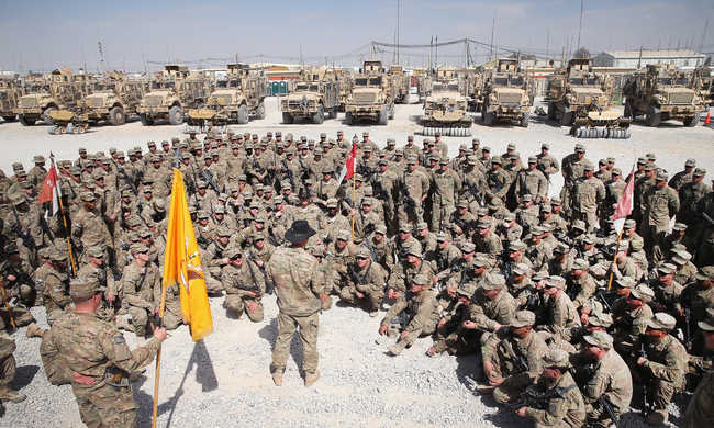 Amerika szárazföldi csapatokat küld Szíriába