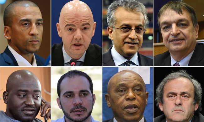 Nyolcan versenyeznek a FIFA elnöki helyéért