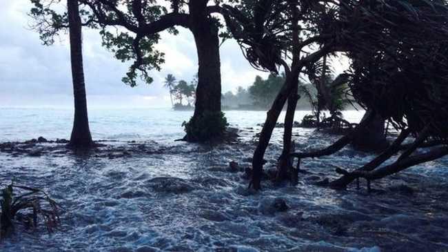 Menekülnének a Bikini-szigetekről