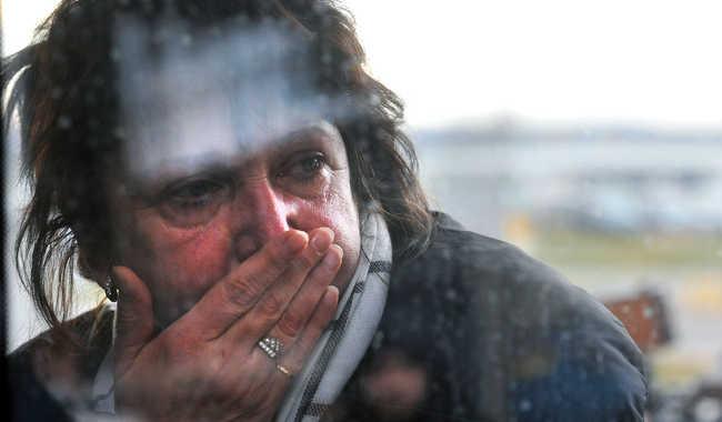 Megrázó fotók a szentpétervári repülőtérről