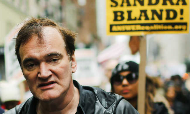 Tarantino: nem vagyok rendőrellenes