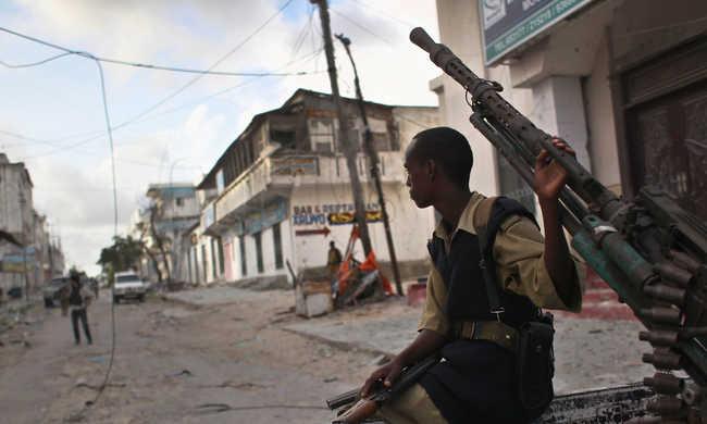 Iszlamisták támadtak meg egy szomáliai szállodát