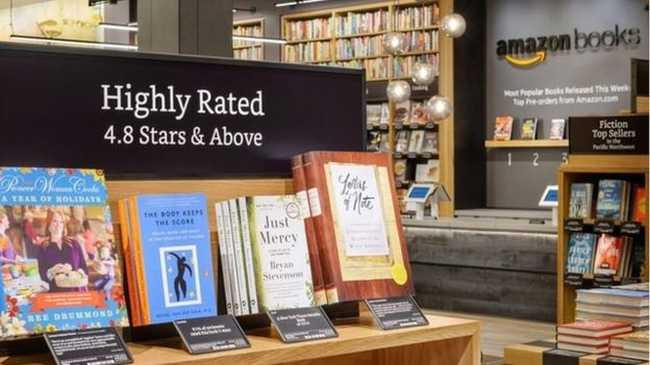 Megnyitotta első könyvesboltját az Amazon