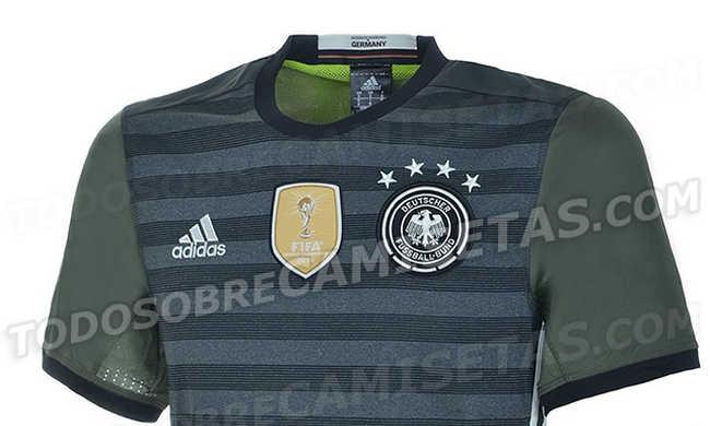 Meglepő a német válogatott új mezének színe