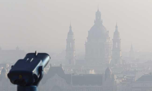 Szmogriadó lesz Budapesten