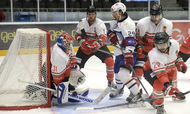 Norvégia 4-0-ra legyőzte a magyar férfi hokisokat