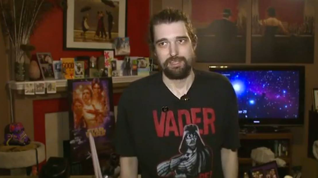 A haldokló rajongó már láthatta a Star Wars hetedik részét