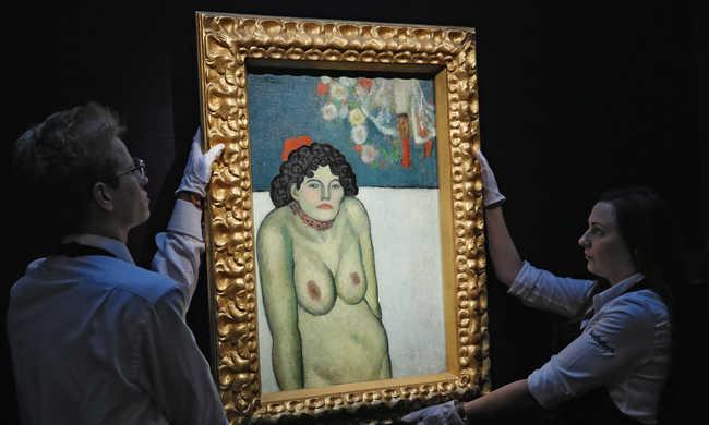 67 millió dollár Picasso aktjáért
