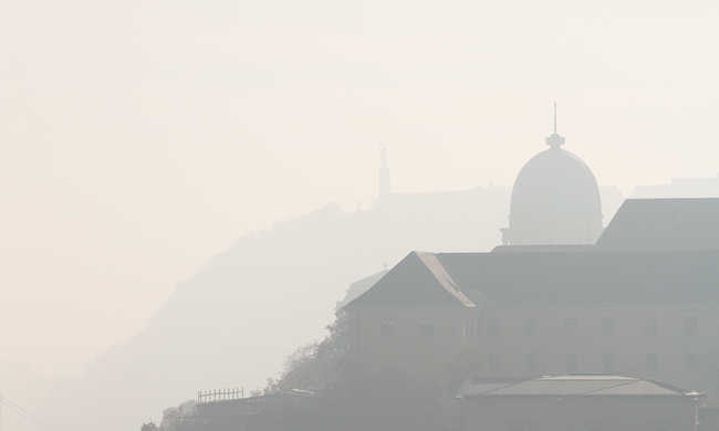 Az ország ezen részén egészségtelen levegőt venni