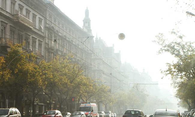 Romlott a levegő minősége Budapesten