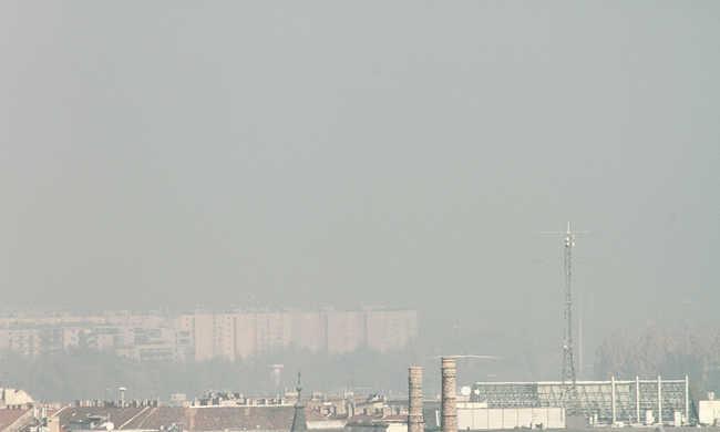 A nemdohányzók tüdeje sincs biztonságban: Budapest levegője több szál ciginek felel meg naponta