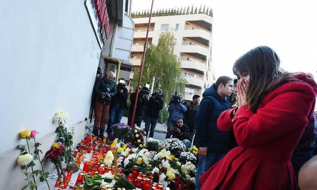 Bukaresti tűzvész: már 45 halálos áldozat
