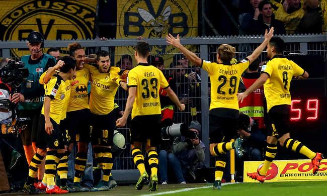 A Dortmund nyerte a Ruhr-vidéki rangadót