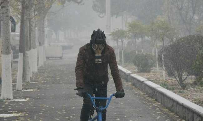 Rekordmértékű légszennyezettség Kínában