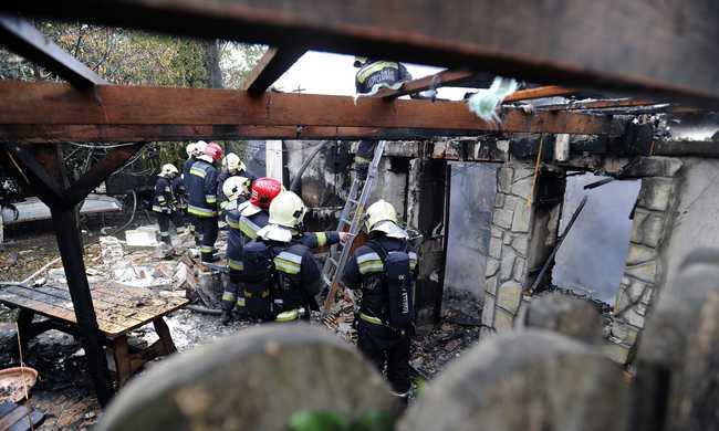 Holttestet találtak a robbanás után