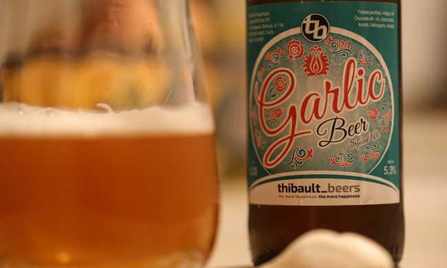 Megszületett a fokhagymás sör
