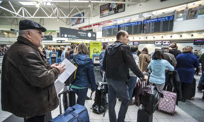 Az utasok szerint volt káosz, a reptér szerint nem