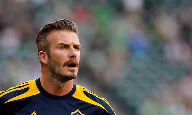 Az Antarktiszon is focizott David Beckham