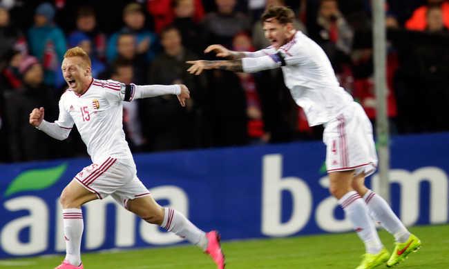 VÉGE! Norvégia - Magyarország: 0-1