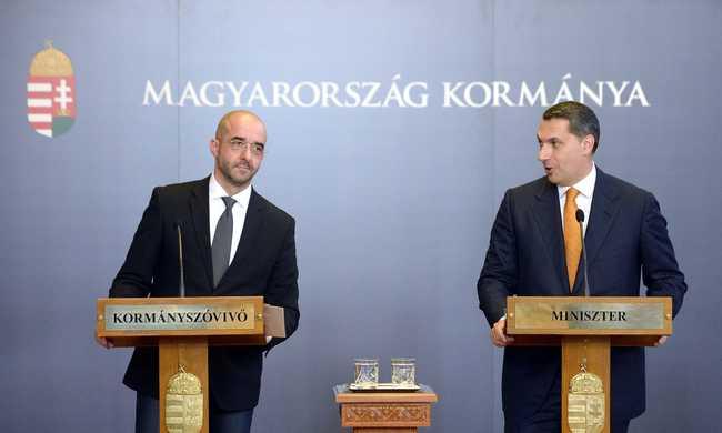 Kormányszóvivő: egyetlen migránst sem vesz vissza Magyarország