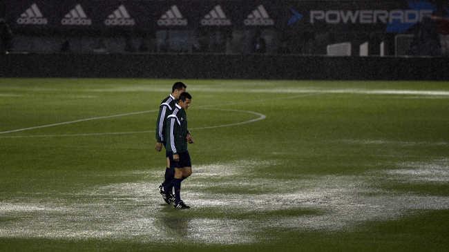 Vb-selejtezők: elmaradt az Argentína-Brazília meccs - videók!