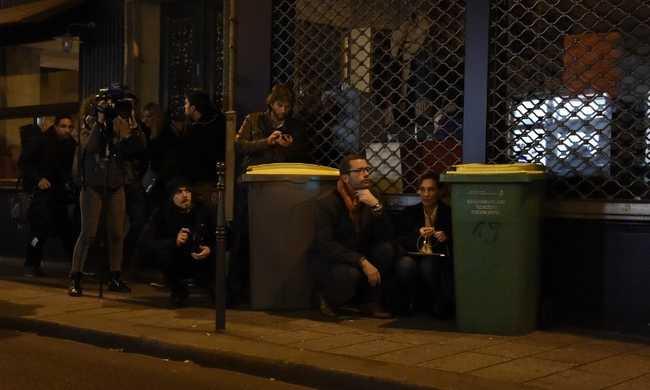 Így menekültek a koncertről Párizsban - videó