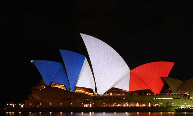 Francia színekben a világ látványosságai - képek