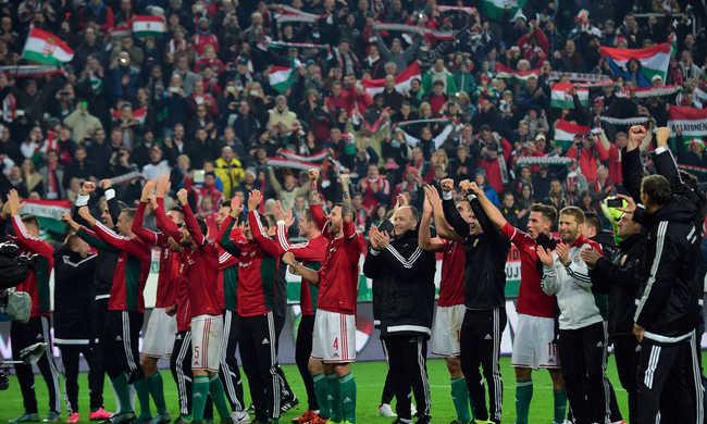 Képgaléria: Így győzte le Norvégiát a magyar válogatott