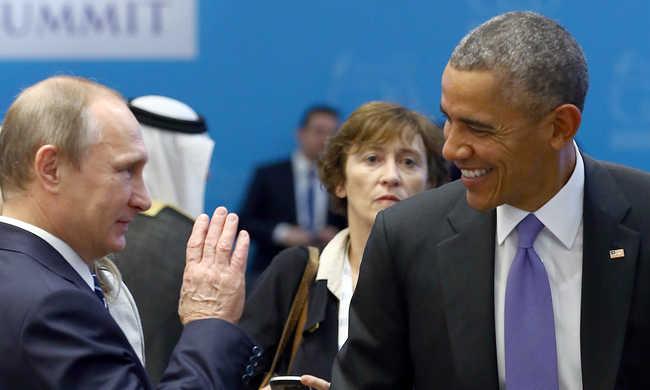 Telefonon egyeztetett Barack Obama és Vlagyimir Putyin