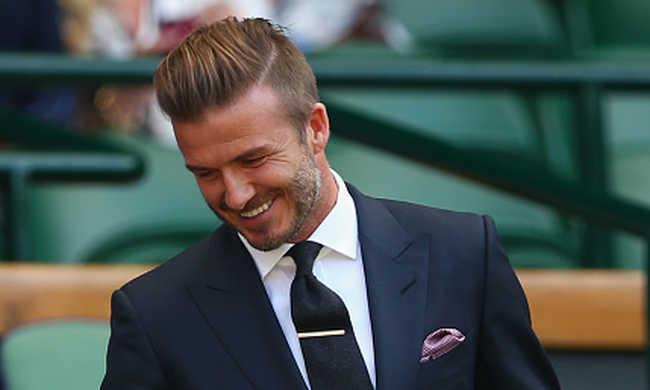 David Beckhamet választották a legszexibb férfinek