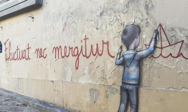 Spray for Paris: a graffitisek válasza a terrorra - fotógaléria